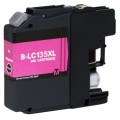 Brother Compatible LC-135XLM LC-135 Magenta Ink Cartridge High Yield