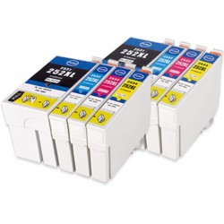 8 x Epson 252XL Compatible Ink Cartridges High Capacity