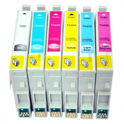 12 x Epson T0491-6 Ink Cartridges - Two Complete Sets