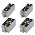 4 x Canon PGI-35BK CLI-36C Compatible Ink Cartridges for Canon IP100