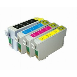 4 x Epson 140 T140 Ink Cartridges Compatible