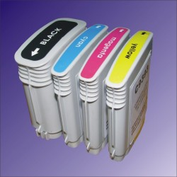 4 x HP88 HP18 Ink Cartridges One Complete Set