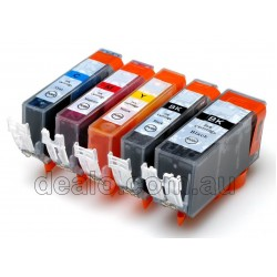 10 x PGI-5BK CLI-8 Ink for Canon - Two complete sets