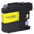 Brother Compatible LC-135XLY LC-135 Yellow Ink Cartridge High Capacity