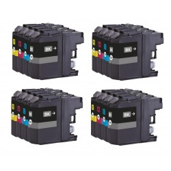 16 Brother LC137XL LC135XL LC-137XL LC-135XL Compatible Ink Cartridges