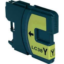 Brother LC38 LC67 LC980 Yellow Ink Cartridge