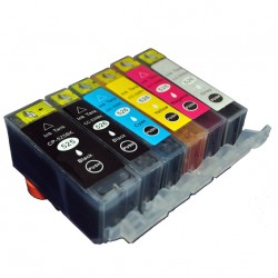 12 x Ink Cartridges for Canon Pixma MG6150 MG6250 MG8150 MG8250