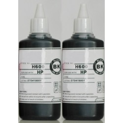 HP Pigment Black Refill Ink Two 100ml Bottles