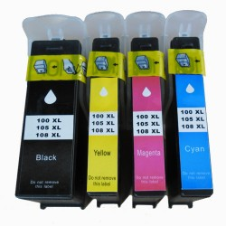 8x Lexmark 100XL Ink Cartridges - Two Sets