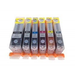 Refillable Canon PGI-650 CLI-651 Ink Cartridges For MG6360 MG7160 7560