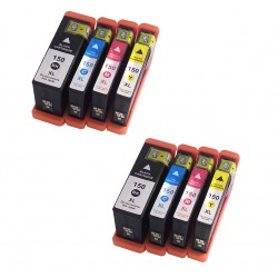 8 x Lexmark 150 150XL Ink Cartridges for Pro715 Pro915 S315 S415 S515